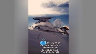 Foto penyemaian awan BPPT