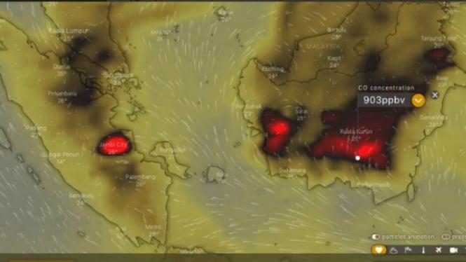 Peta Kebakaran Hutan