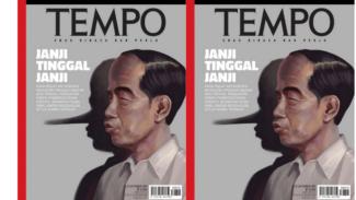 Sampul majalah Tempo