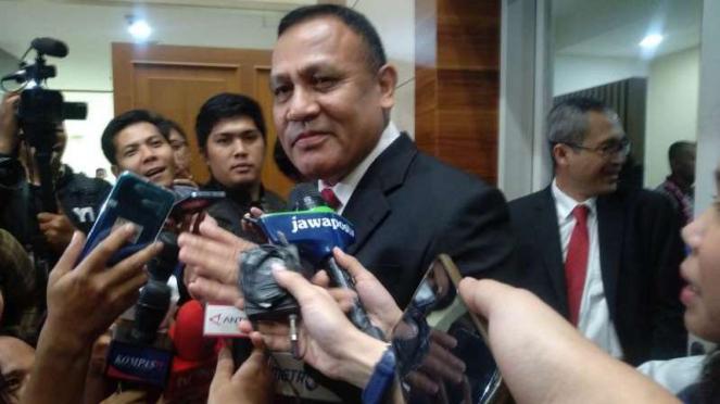 Ketua KPK terpilih, Irjen Pol Firli Bahuri.