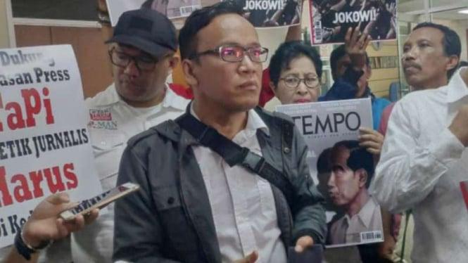 Ketua Relawan Jokowi Mania (JoMan) Immanuel Ebenezer.