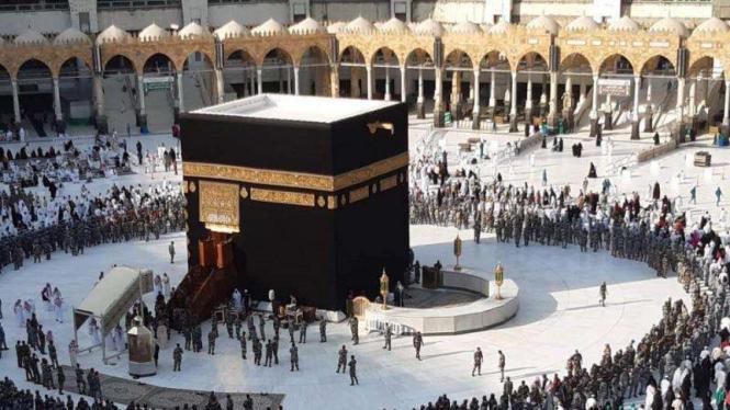 Kabah di Mekah, Arab Saudi.