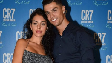 Cristiano Ronaldo dan Georgina Rodriguez.