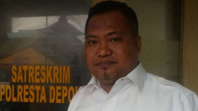 Kuasa hukum Direktur PT Damtour Hambali, Mukhlis Effendi di Depok