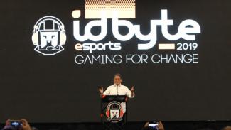 Resmi Dibuka Rudiantara, IdByte 2019 Dukung Babak Baru Industri E-Sports di Indonesia. (FOTO: IdByte)
