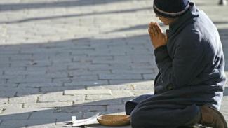 Gambar ilustrasi orang miskin