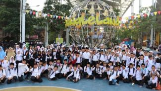 Suasana Festival Muhamram Ceria, Selasa 17 September 2019 di JungleLand Sentul, Bogor.