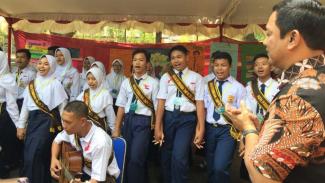 SMP 33 jadi pilot project pencegahan bullying di kota Semarang.