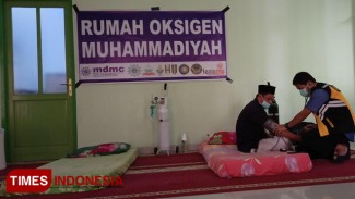 Mobil Oksigen untuk menghadapi Karhutla yang disediakan oleh Muhammadiyah Palangkaraya. (FOTO: Tim MDMC/TIMES Indonesia)