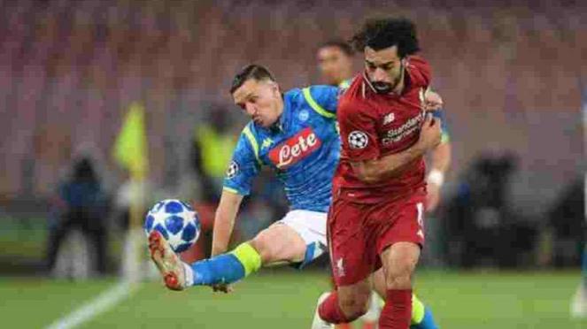 Napoli vs Liverpool di Stadio San Paolo.