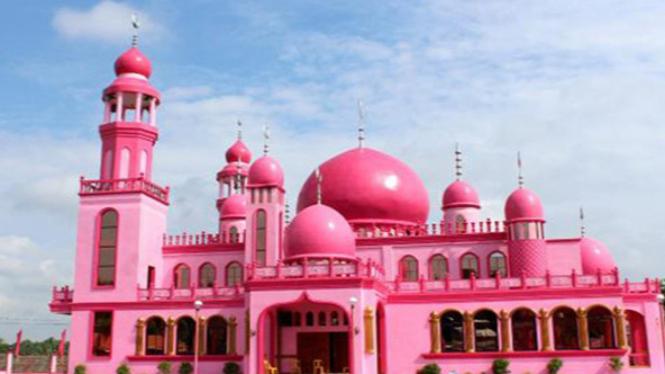 Masjid Pink Di Filipina