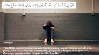 doa untuk mengusir kegelisahan dalam hidup