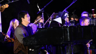 Erwin Gutawa konser di Jerman.