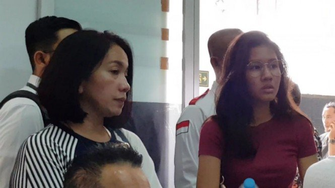 Ibunda Jefri Nichol, Junita Eka Putri dan Shenina Cinnamon.