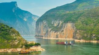 salah satu bagian di sungai yangtze