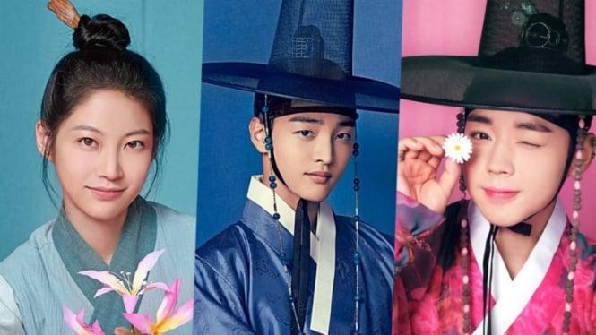 Para pemain Flower Crew: Joseon Marriage Agency.