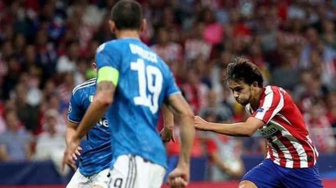 Atletico Madrid vs Juventus.