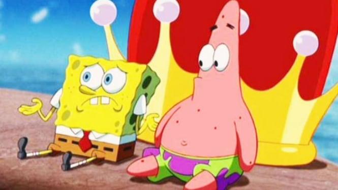 Ilustrasi Spongebob Squarepants