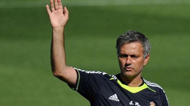 Jose Mourinho saat menangani Real Madrid