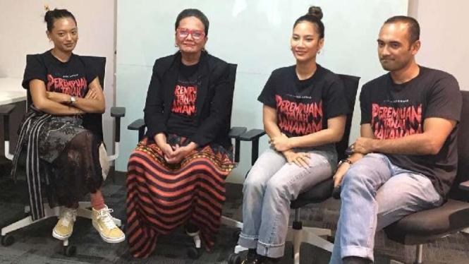 Para pemain film Perempuan Tanah Jahanam.