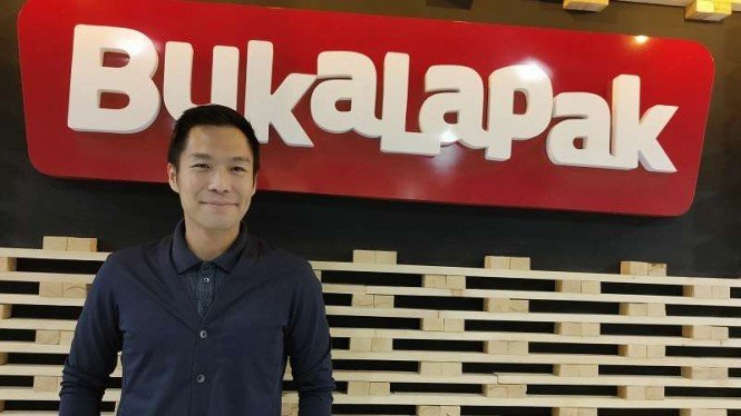 Chief Strategy Officer Bukalapak, Teddy Oetomo