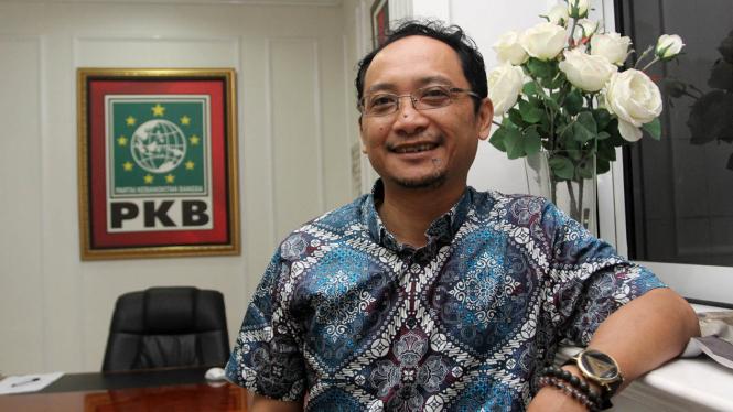 Sekjen Partai Kebangkitan Bangsa PKB Muhammad Hasanuddin Wahid.