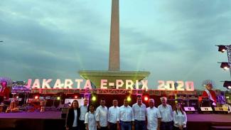 Konferensi pers Jakarta E-Prix 2020