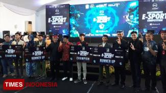 Kompetisi Banyuwangi E-Sport Competition 2019 di Gedung Paramitha Kencana (Foto : Roghib Mabrur/Times Indonesia)