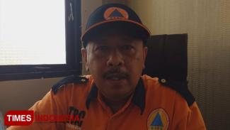 Sekretaris BPBD Kabupaten Tuban, Emil Pancoro, Jum