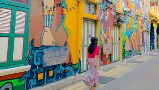 Mural Haji Lane, Photo By : @enchagram