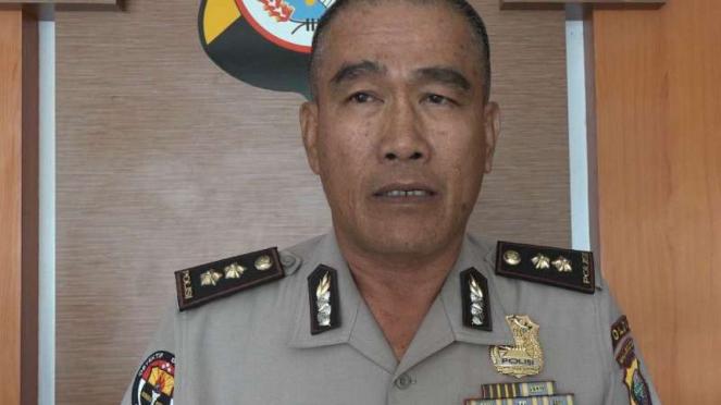 Kepala Bidang Humas Polda Maluku Utara Ajun Komisaris Besar Polisi Hendri Badar