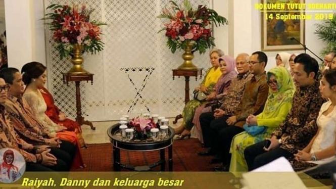 Lamaran keluarga Tutut Soeharto