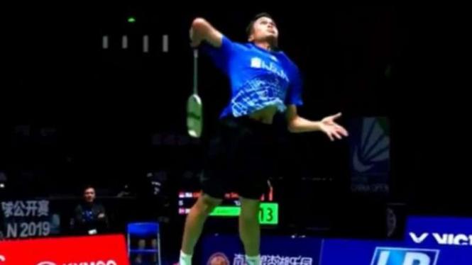 Anthony Ginting Alami Kekalahan Tragis di Denmark Open
