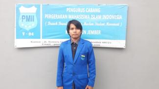 Ahmad Hamdi Hidayatullah, Ketua PC PMII Jember. (foto: Istimewa)