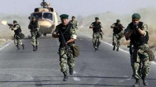 Pasukan khusus Iran.
