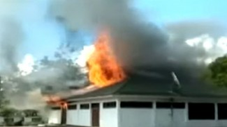 Pembakaran bangunan di Kota Wamena, Papua