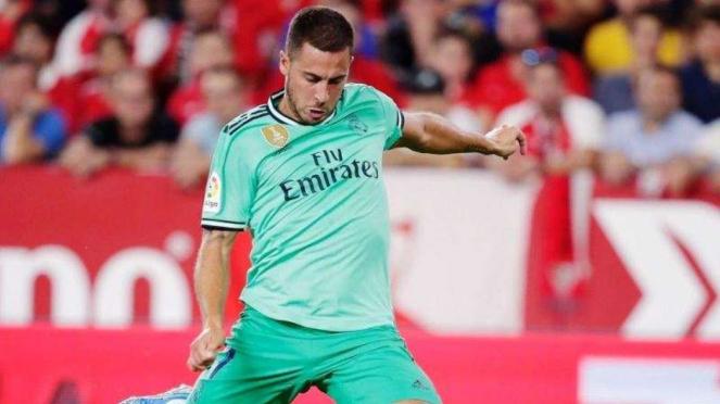 Megabintang Real Madrid, Eden Hazard dinilai kegendutan
