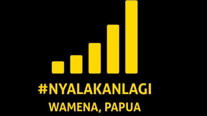 Nyalakan lagi internet Wamena, Papua.