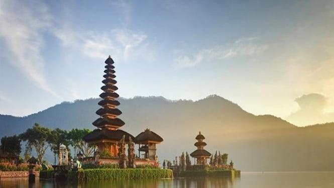 Ilustrasi wisata Bali.