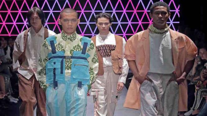 Koleksi di Men's Fashion Week 2019