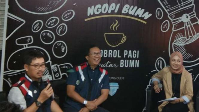 Direktur Keuangan Waskita Karya, Haris Gunawan.