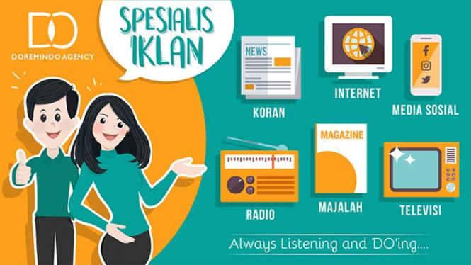 Doremindo – Pasang Iklan Koran, Majalah, Radio, TV, Internet.