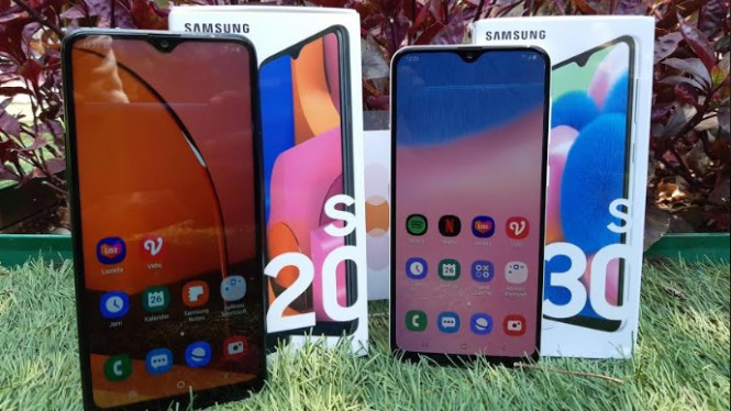 Samsung Galaxy A20s dan Samsung Galaxy A30s