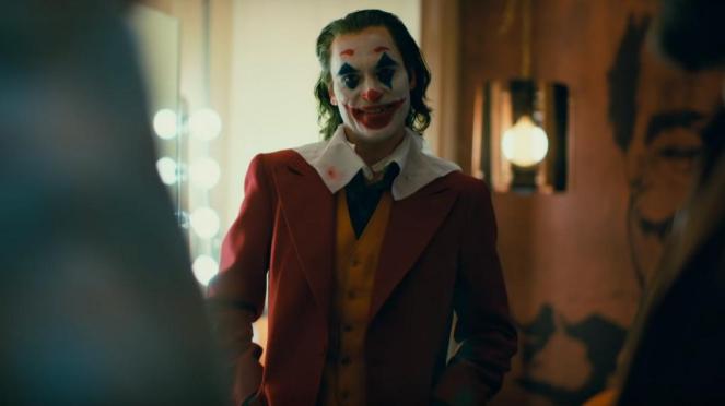Film Joker dibintangi oleh Joaquin Phoenix.