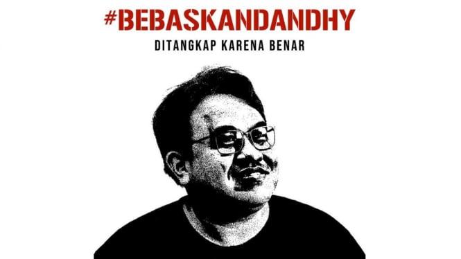 Solidaritas atas penangkapan jurnalis senior Dandhy Laksono