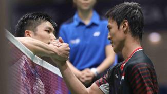 Laga Chou Tien Chen vs Shesar Hiren Rhustavito