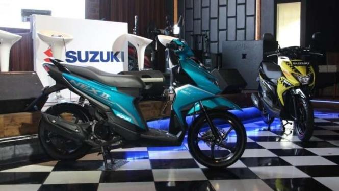 Suzuki luncurkan NEX II model baru untuk pasar skuter matik entry level