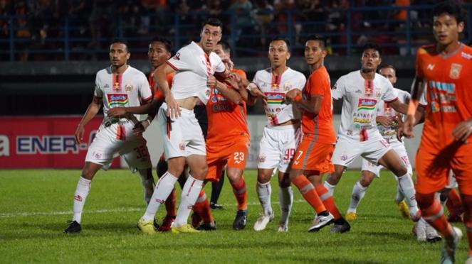 Pertandingan Borneo FC vs Persija Jakarta