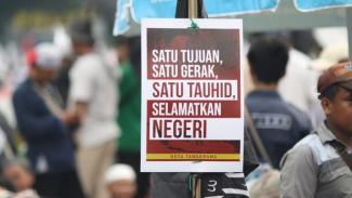 Aksi Mujahid 212 di Jakarta, Sabtu 9 September 2019