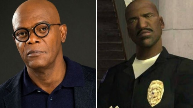 Nick Fury- Game Grand Theft Auto: San Andreas